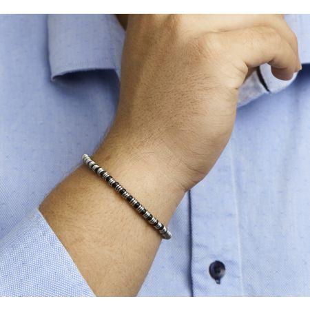 Heren armband 4,5 mm 19 + 2,5 cm