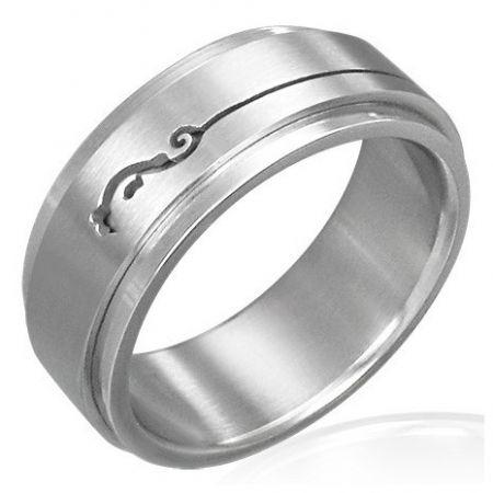 Edelstalen spinning-ring